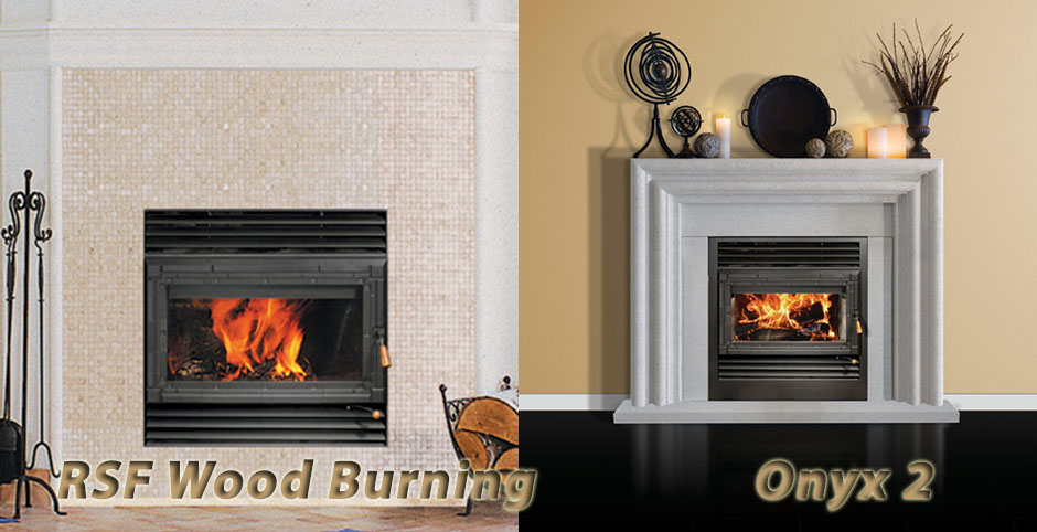 Rsf Wood Burning Onyx 2 Fireplace From Mississauga Home